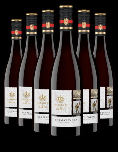6 Flaschen 2018 Bermatingen Spätburgunder trocken VDP.Ortswein