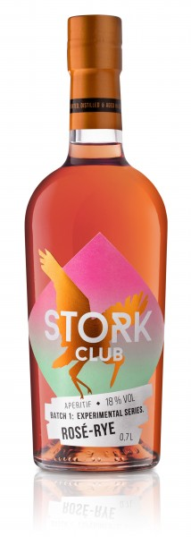 Stork Club Rosé-Rye Spirituose