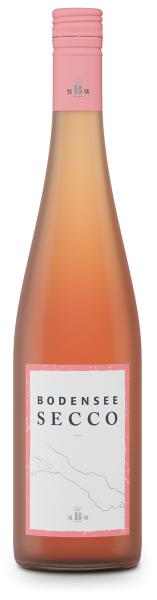 Bodensee-Secco Rosé trocken