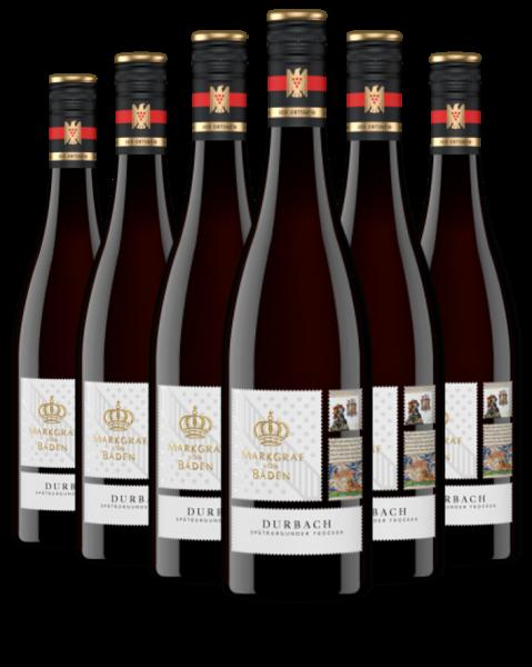 6 Flaschen 2017 Durbach Spätburgunder trocken VDP.Ortswein