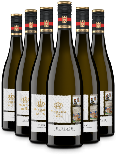 6 Flaschen 2018 Durbach Chardonnay trocken VDP.Ortswein